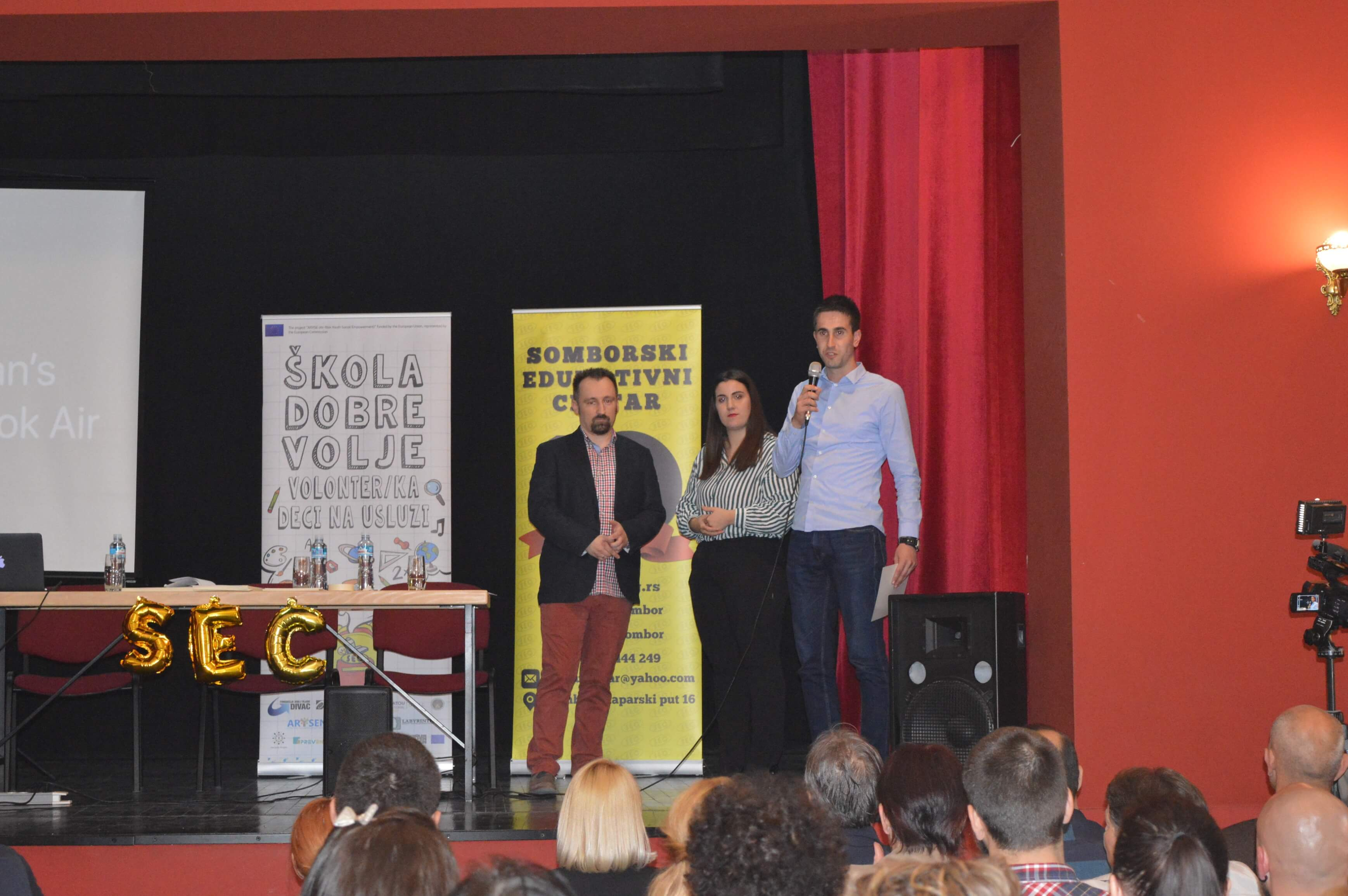 Заменик градоначелнице Антонио Ратковић примио је захвалницу у име Града Сомбора