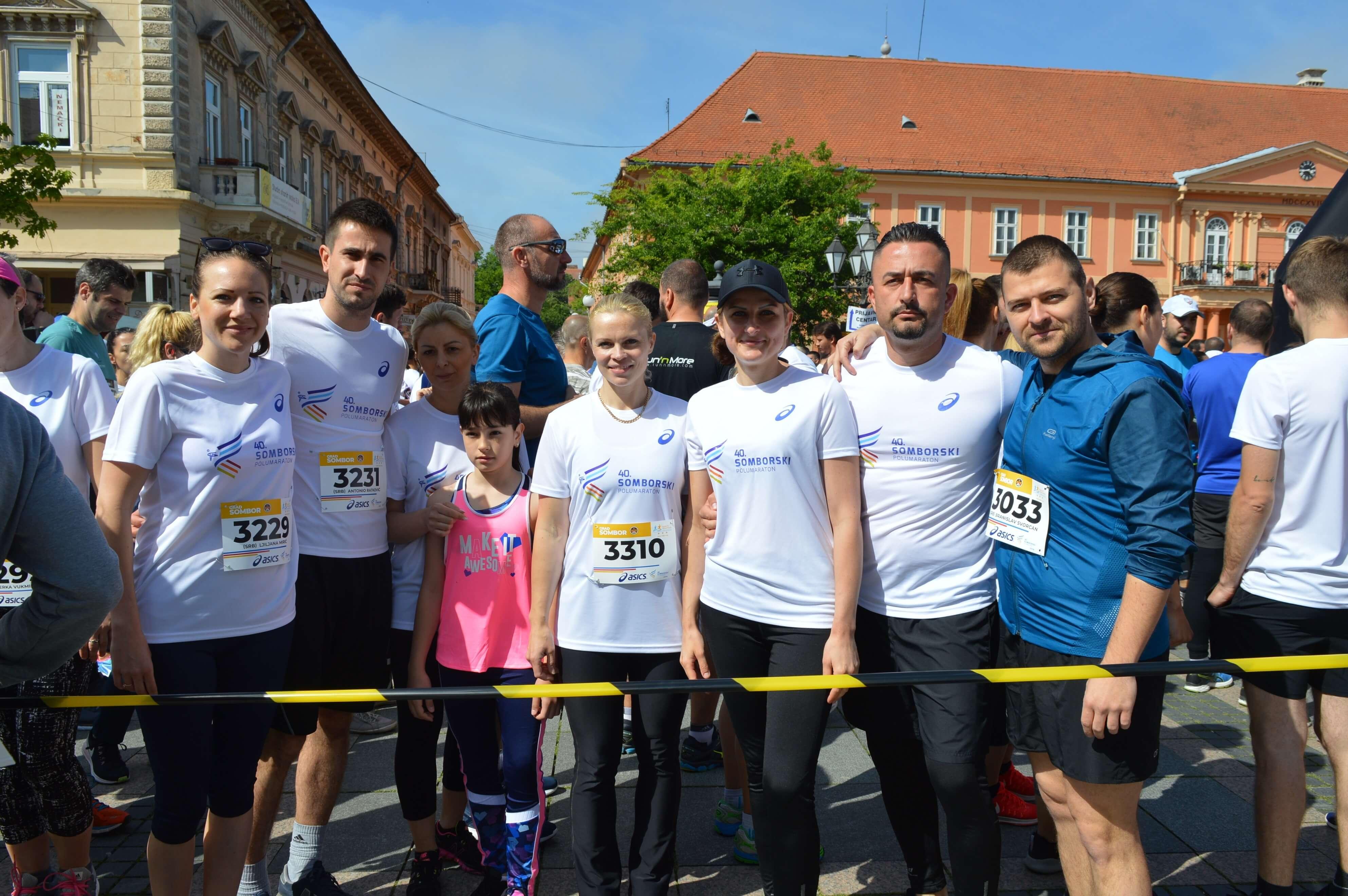 У трци су учествовали и представници Градске управе града Сомбора