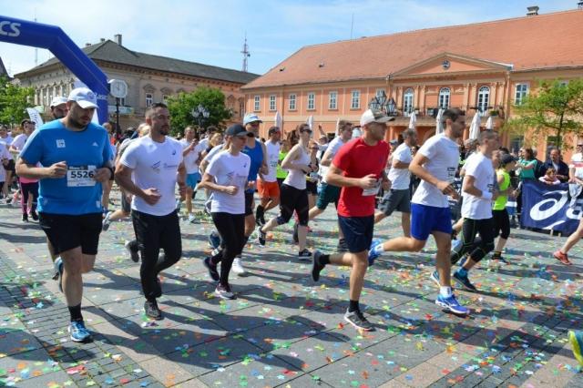 """У """"Дукат"""" трци на 7 километара учествовала је и градоначелница Душанка Голубовић"""