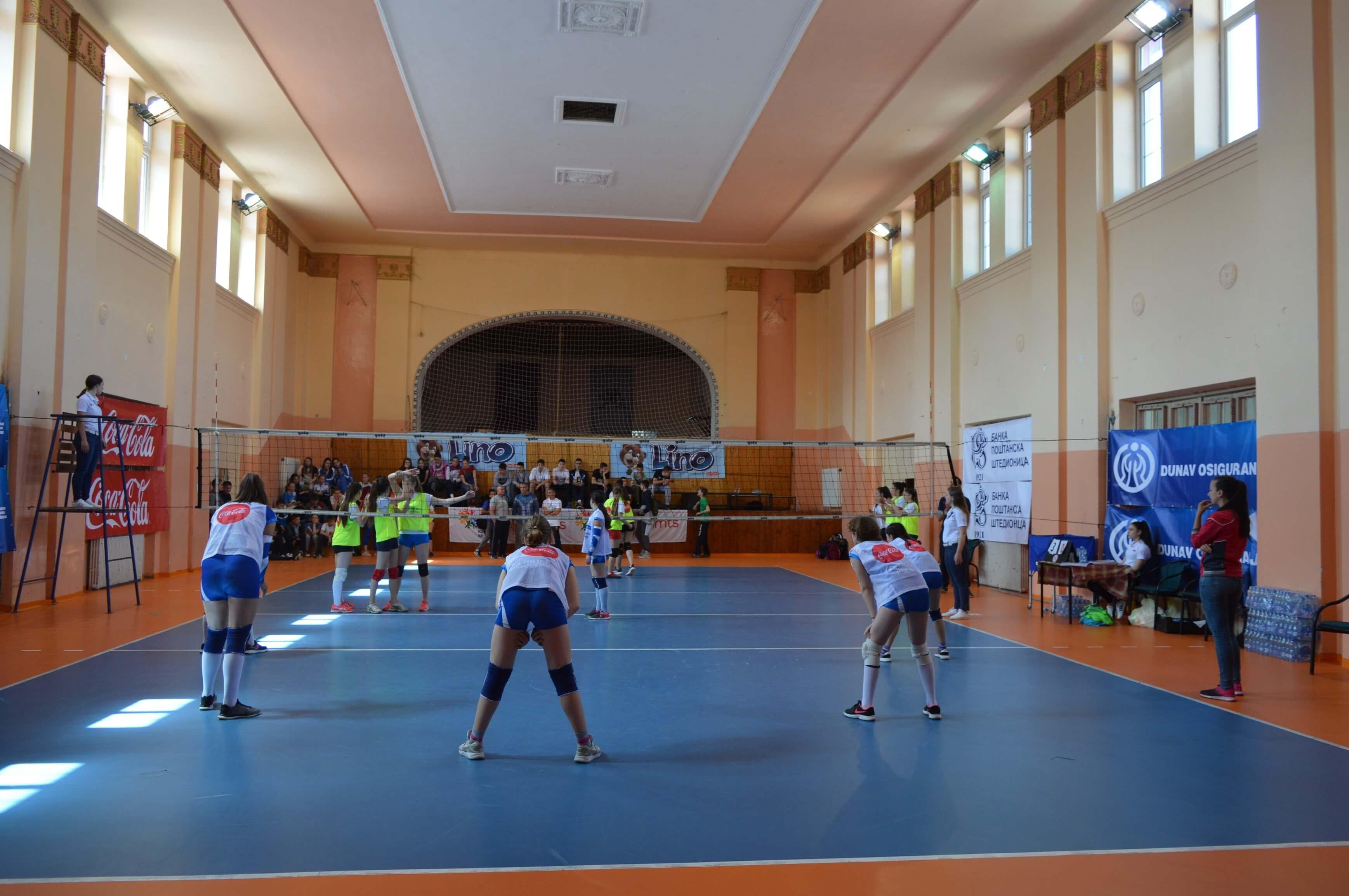Такмичење је настављено на теренима Спортског центра Соко