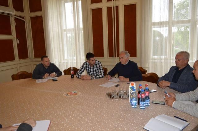 На иницијативу заменика градоначелнице Антонија Ратковића одржан радни састанак Штаба за ванредне ситуације