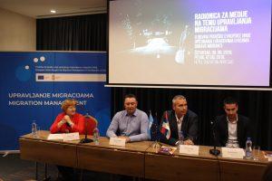 Антонио Ратковић, заменик градоначелнице града Сомбора учествовао на другом панелу медијске радионице на тему Управљања миграцијама