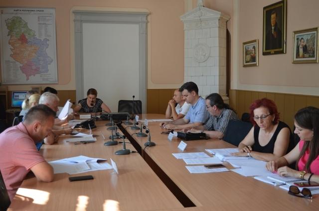 Градски већници размотрили 23. Тачке дневног реда на 162. седници Градског већа града Сомбора