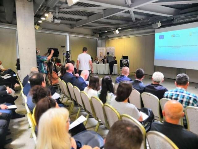 """Јучерашњии скуп организован је у оквиру програма """"Подршка локалним самоуправама у Србији на путу ка ЕУ – Друга фаза"""", који финансира Влада Шведске."""