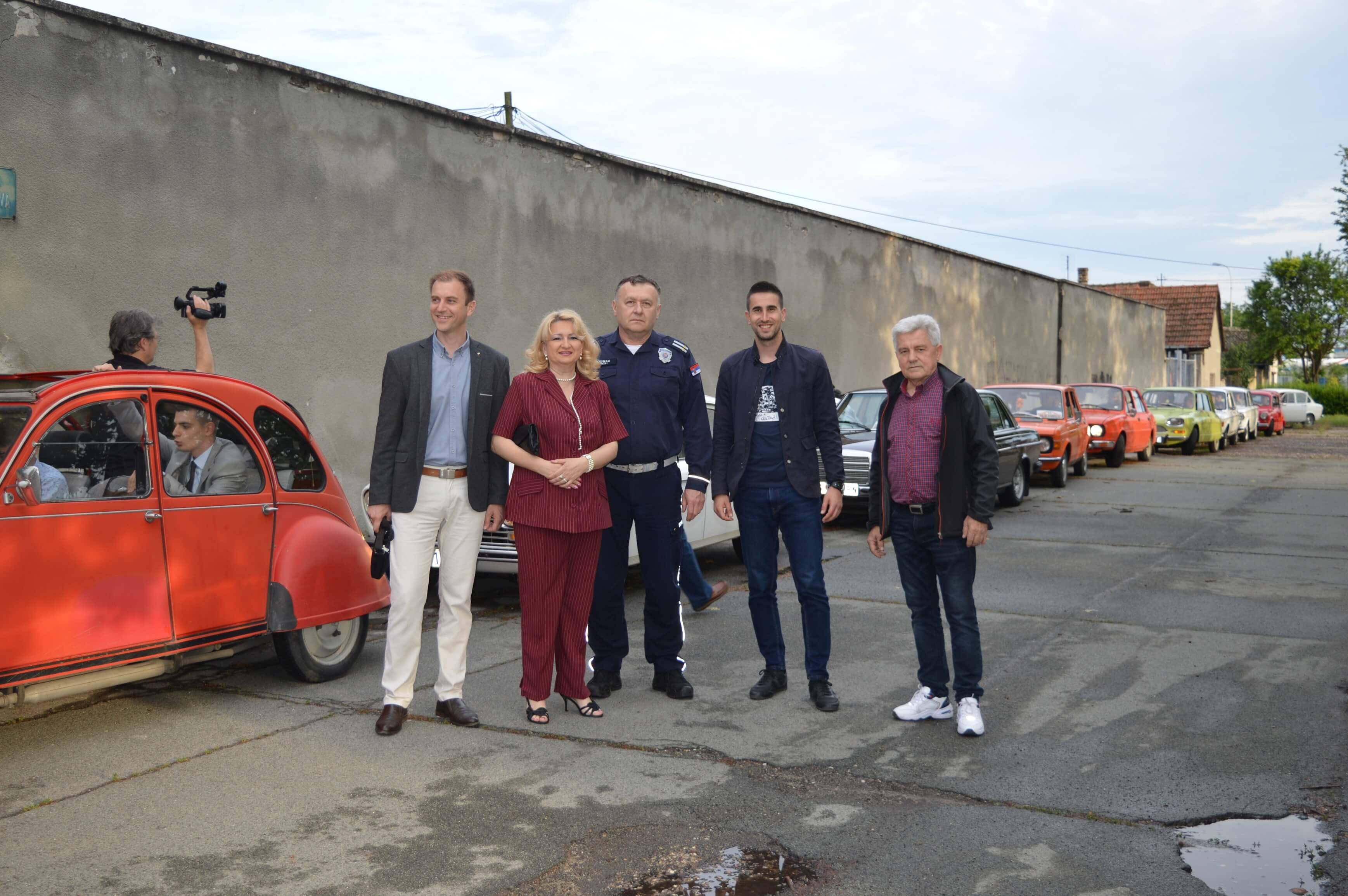 Представници Савета за безбедност саобраћаја града Сомбора и Средње техничке школе