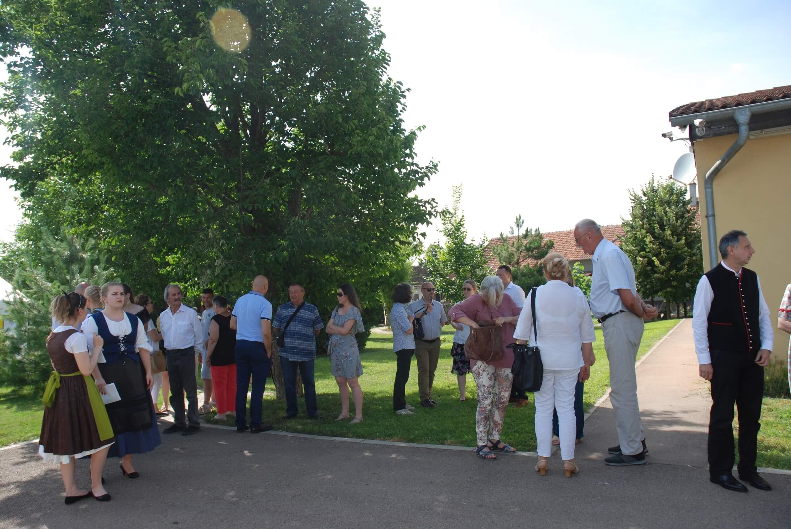 """""""4. Летњи дан културе немачке националне мањине"""" одржан је у дворишту Удружења Немаца Герхард"""