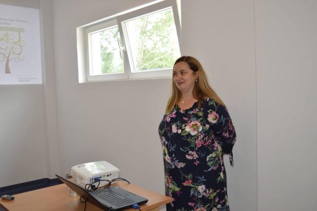 Prezentaciju projekta održala je Melita Danilović