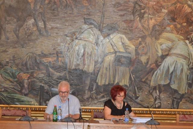 Седницом председавао заменик председника скупштине града Миодраг Секулић