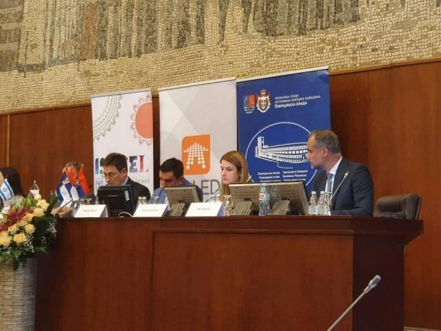 Na panel diskusiji govorila gradonačelnica Sombora Dušanka Golubović