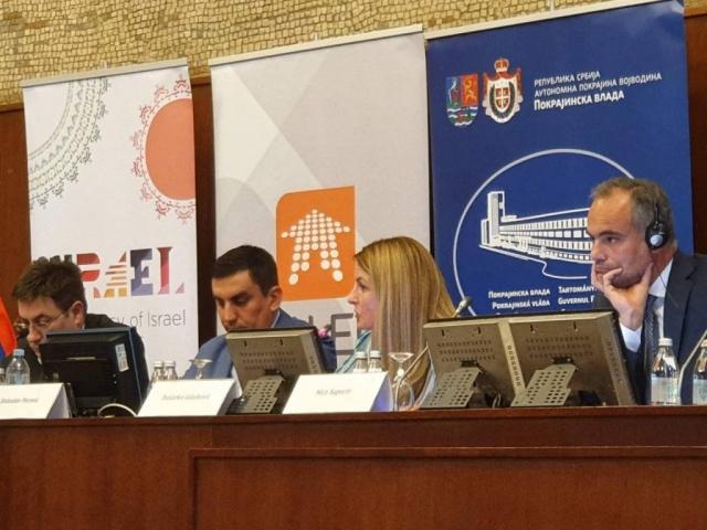 Gradonačelnica je na panelu predstavila izazove i potrebe lokalnih samouprava u ovoj oblasti.
