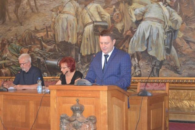 О буџету говорио Сава Дојић градски већник за област финансија и привреде