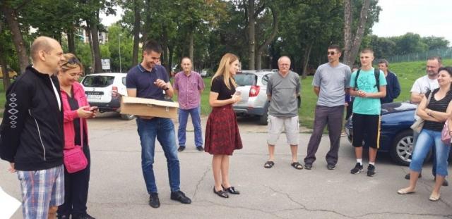 Градоначелница Душанка Голубовић пожелела је ученицима  леп и пријатан боравак у Мађарској