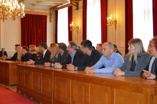 Комеморацији,  поводом смрти Милана Ракаса, присуствовали су и представници Града Сомбора на челу са градоначелницом Душанком Голубовић