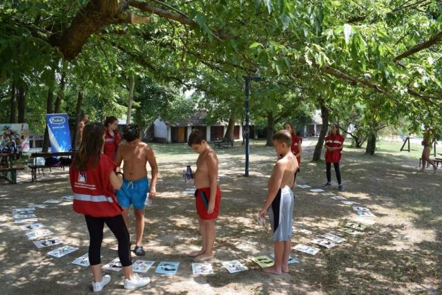 Промотивно едукативне активности на тереним купалишта Штранд