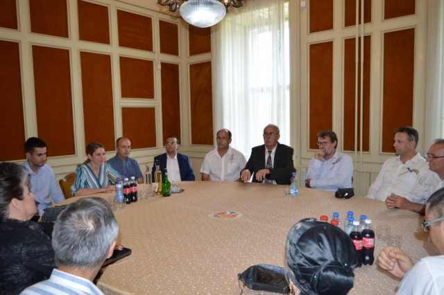 Пријем за представнике организатора и њихове госте