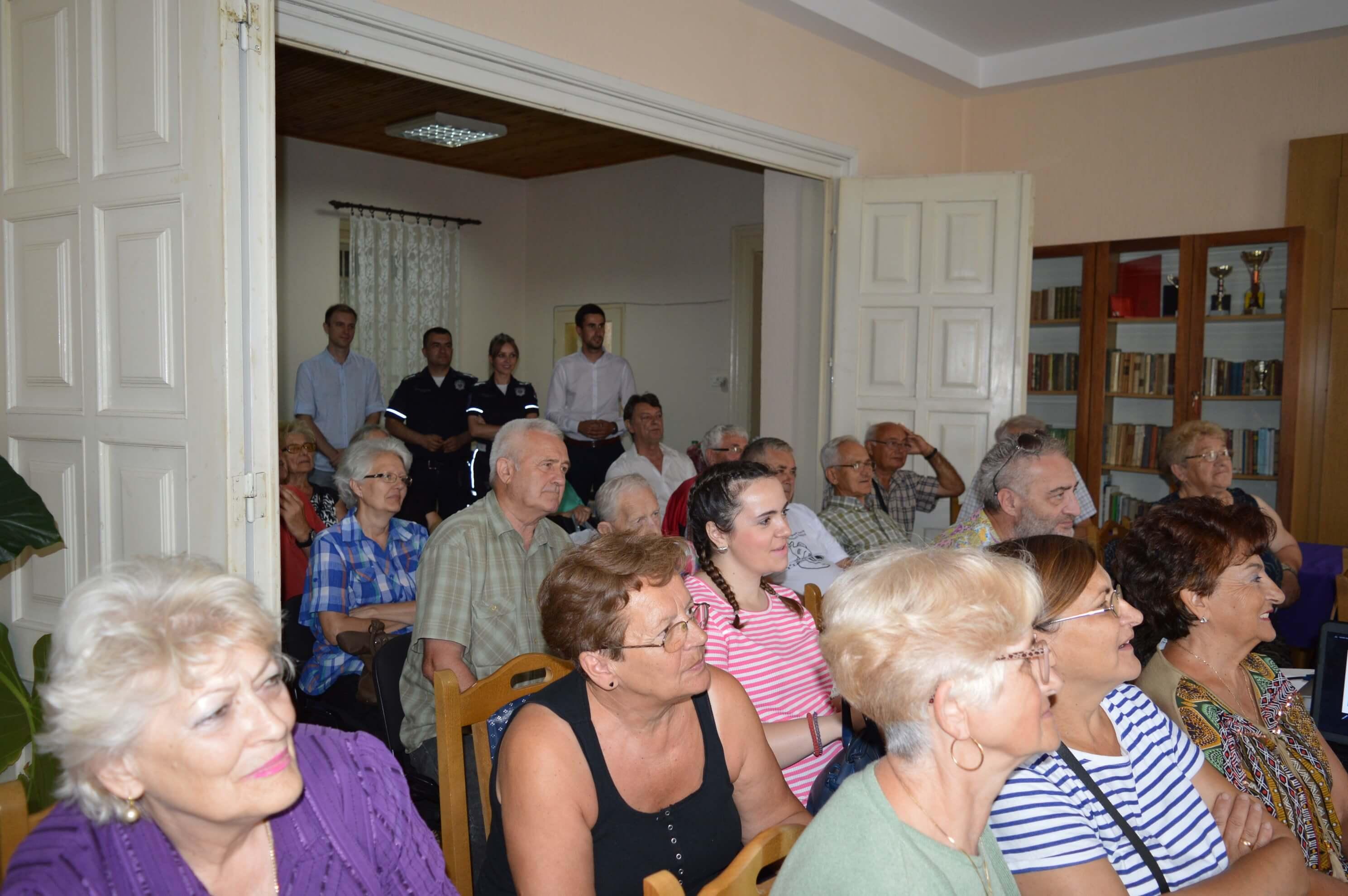 Презентацију је организовао Савет за безбедност саобраћаја града Сомбора