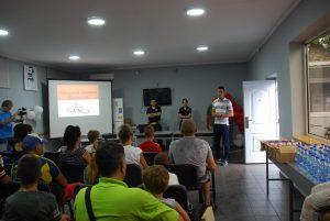Председник Савета за безбедност саобраћаја, заменик градоначелнице Антонио Ратковић позвао је представнике бициклиста да се укључе у анализу Елабората бициклистичких стаза