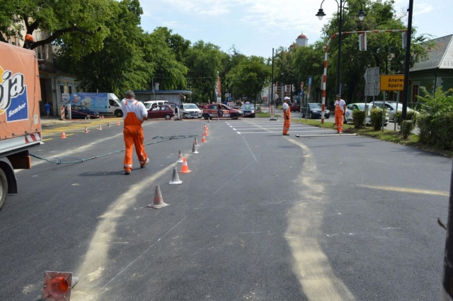 Завршни радови на реконструкцији паркинга на Венцу Петра Бојовића