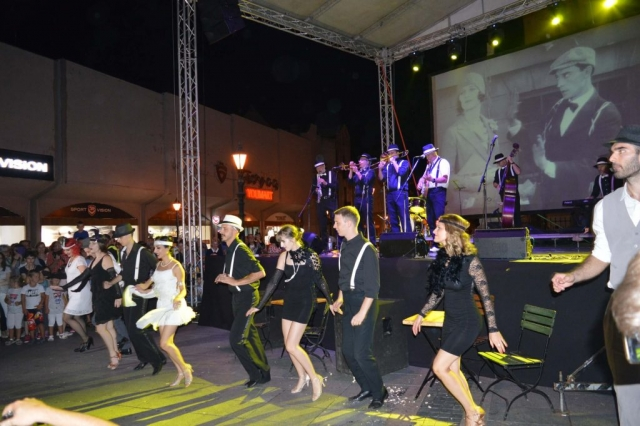 Belgrade Dixieland Orchestra и Плесна школа Раванград