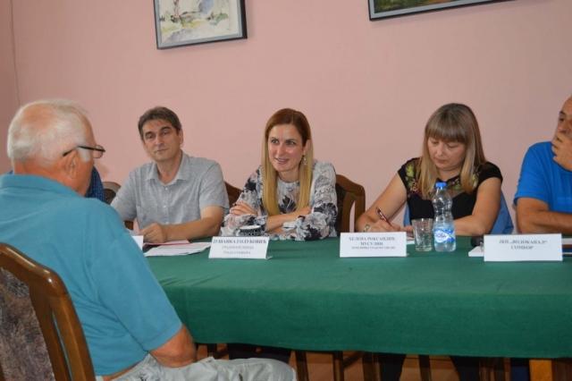 Грађани Стапара имали су прилику да се обрате градоначелници Душанки Голубовић