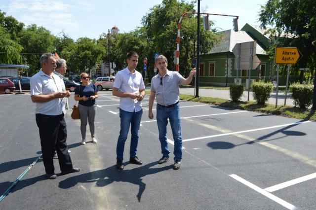 Заменик градоначелнице Антонио Ратковић обишао је обновљени паркинг