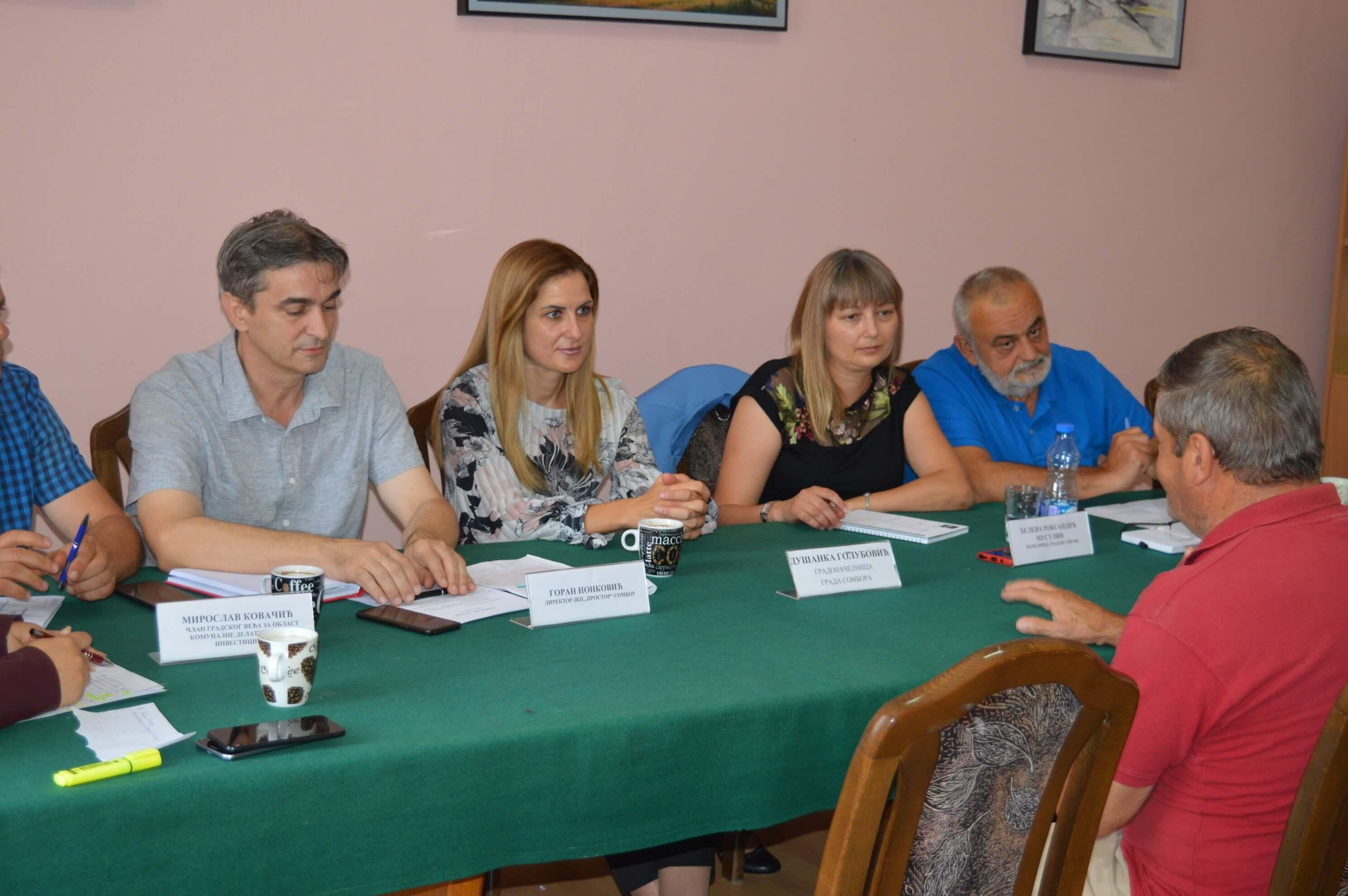 """Градоначелница са тимом својих сарадника посетила је Стапар у оквиру акције """"Отворени дани"""""""