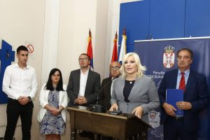 Заменик градоначелнице града Сомбора Антонио Ратковић присуствовао у Апатину састанку са министарком грађевинарства, саобраћаја и инфраструктуре, проф.др Зоранаом Михајловић.