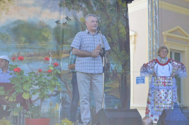 Stanko Kosovac ispred Pokrajinskog sekretarijata za poljopirvredu, vodoprivredu i šumarstvo pozdravio domaćine, goste i učesnike
