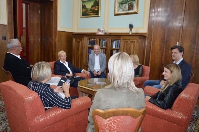 Ово је била узвратна посета  која је договорена приликом боравка  градоначелница Сомбора са тимом својих сарадника у Загребу