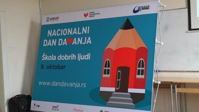 Национални дан давања обележава се 9. октобра