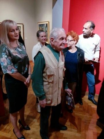 Многобројни гости из света уметности