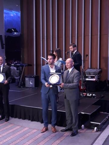 """Zamenik gradonačelnice Antonio Ratković primio je nagradu """"GlobalLocal"""""""