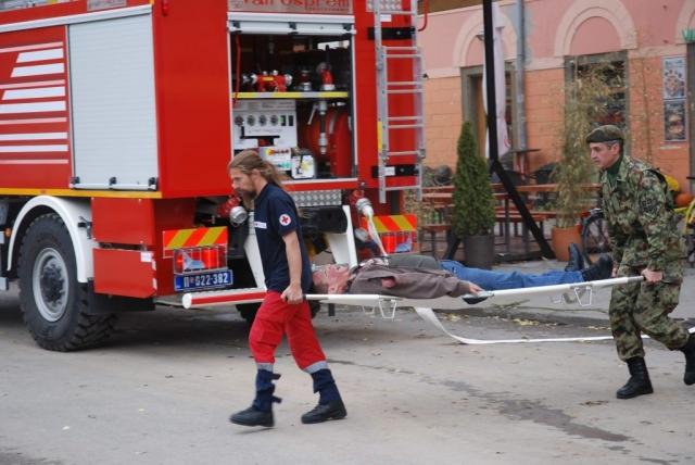 Приказ евакуације повређених