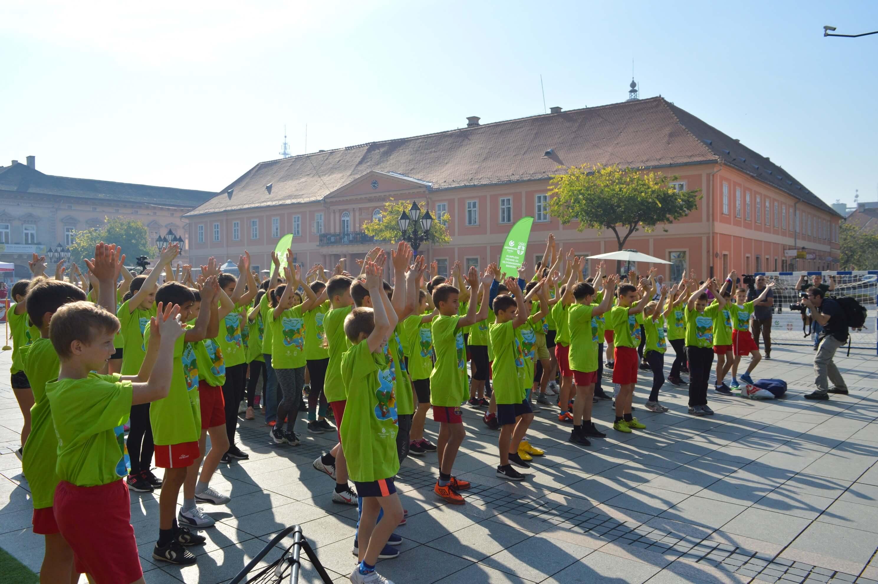 """Пет сомборских школа учествовало је на """"Олимпијском тренингу"""""""