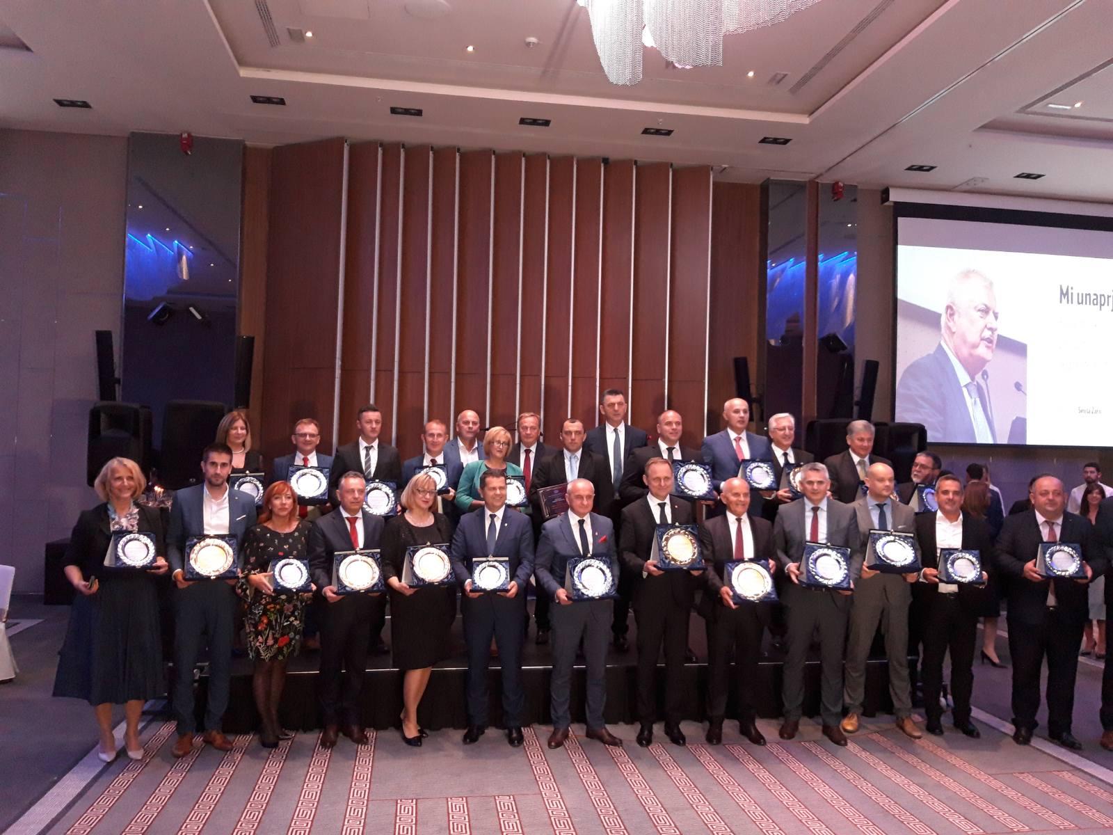 """Svečanost dodele nagrada i priznanja """"GlobalLocal"""" u okviru zvaničnog programa Svetskog kongresa preduzetnika"""