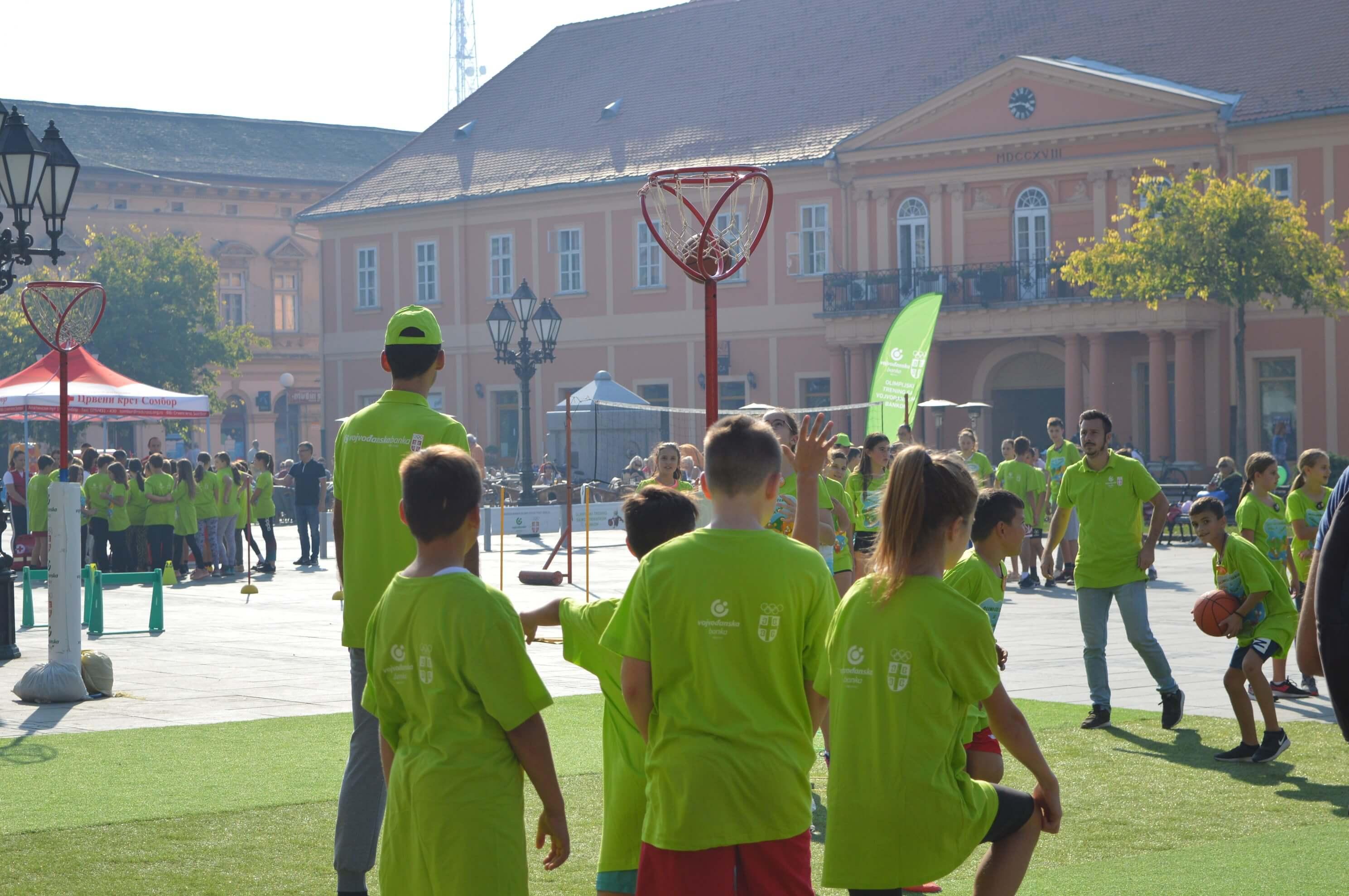"""Циљ """"Олимпијског тренинг"""" је да се деца заинтересују за спорт и определе за неки"""