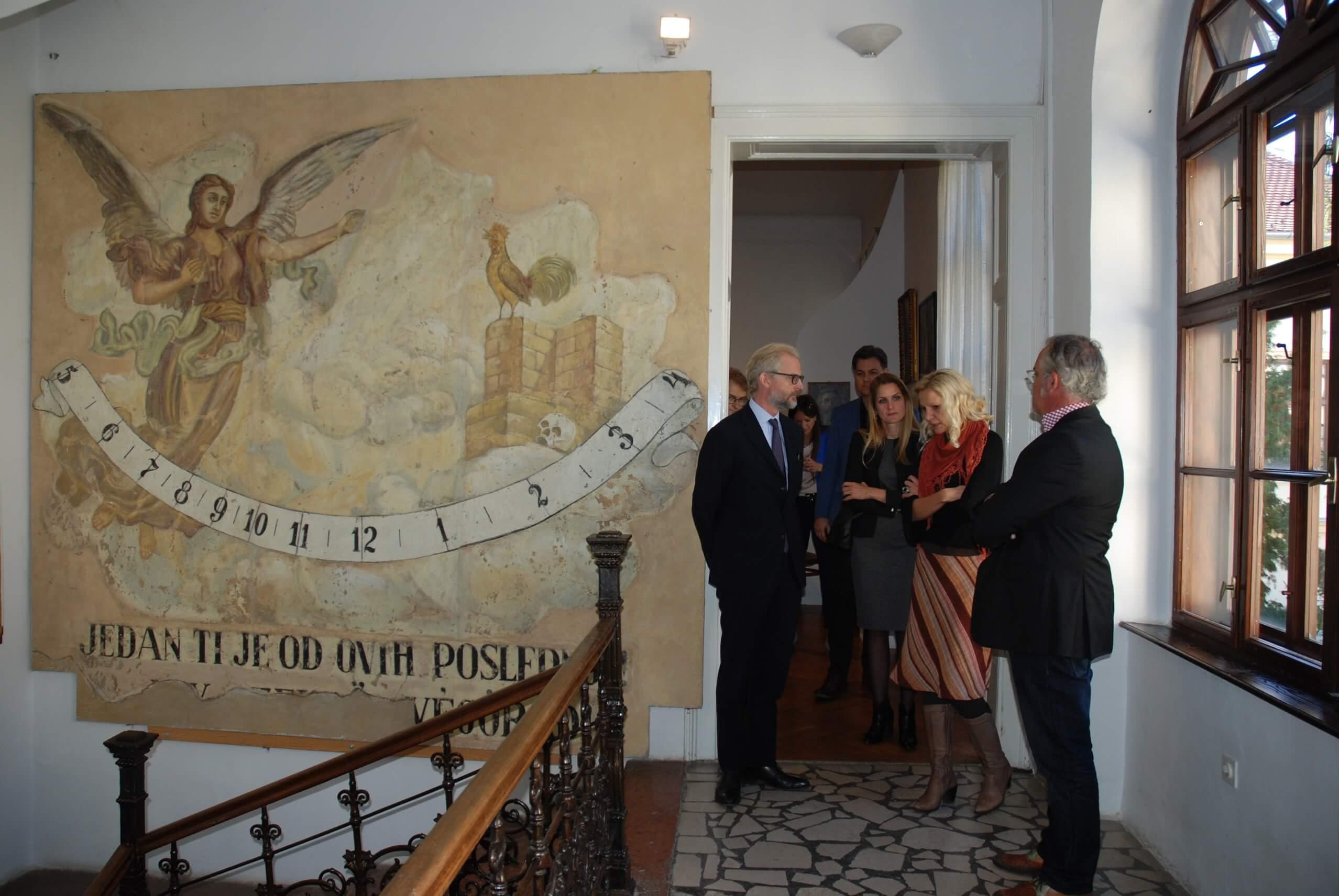 Богата историјска збирка заинтересовала госте из Аустрије