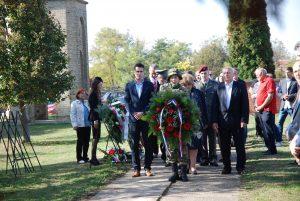 Дан ослобођења Сомбора, 21. октобар, обележен је полагањем венаца на споменик борцима погинулим у Другом светском рату, спомен обележје Црвеноармејаца, бугарских жртава и цивилних жртава на Видовданском тргу