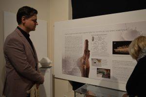 Изложбу је посетио и члан Градског већа Немања Сарач