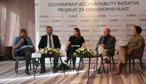 Начелница Градске управе града Сомбора Хелена Роксандић Мусулин представила је искуства и резултате сарадње Града Сомбора и USAID-овог Пројекта за одговорну власт