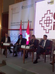 Присутним учесницима  обратила се градоначелница Сомбора, Душанка Голубовић