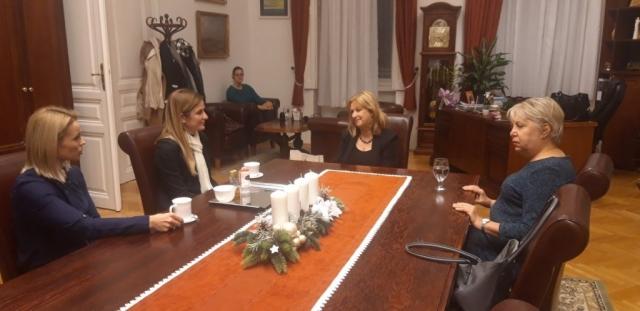 Розалија Преинингер члан Градског већа града Баје је истакал да је жеља да однос братских градова постане мало другачији.