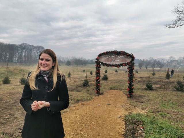 Сомбор добио први Парк новогодишњих јелки