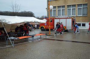 Приказ евакуације и збрињавања повређених