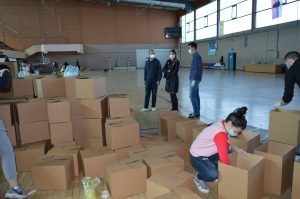 Градоначелница Душанка Голубовић је истакла да ће дониране пакети бити подељени у најскорије време