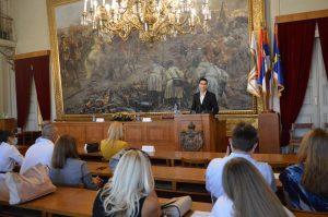 Градоначелник Антонио Ратковић честитао ученицима генерације 2019/2020. на успеху