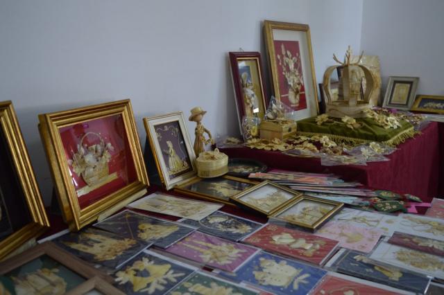 Изложба радова од сламе
