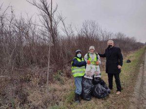 Члан Градског већа за област заштите животне средине подржао је акцију чишћења