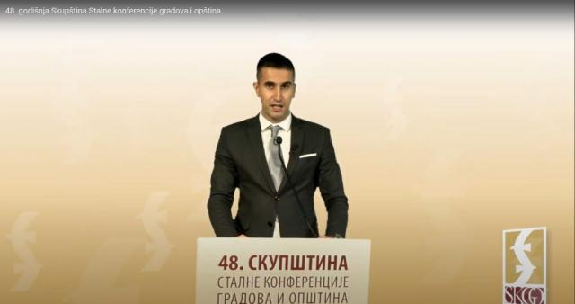 Председник СКГО и градоначелник Сомбора Антонио Ратковић