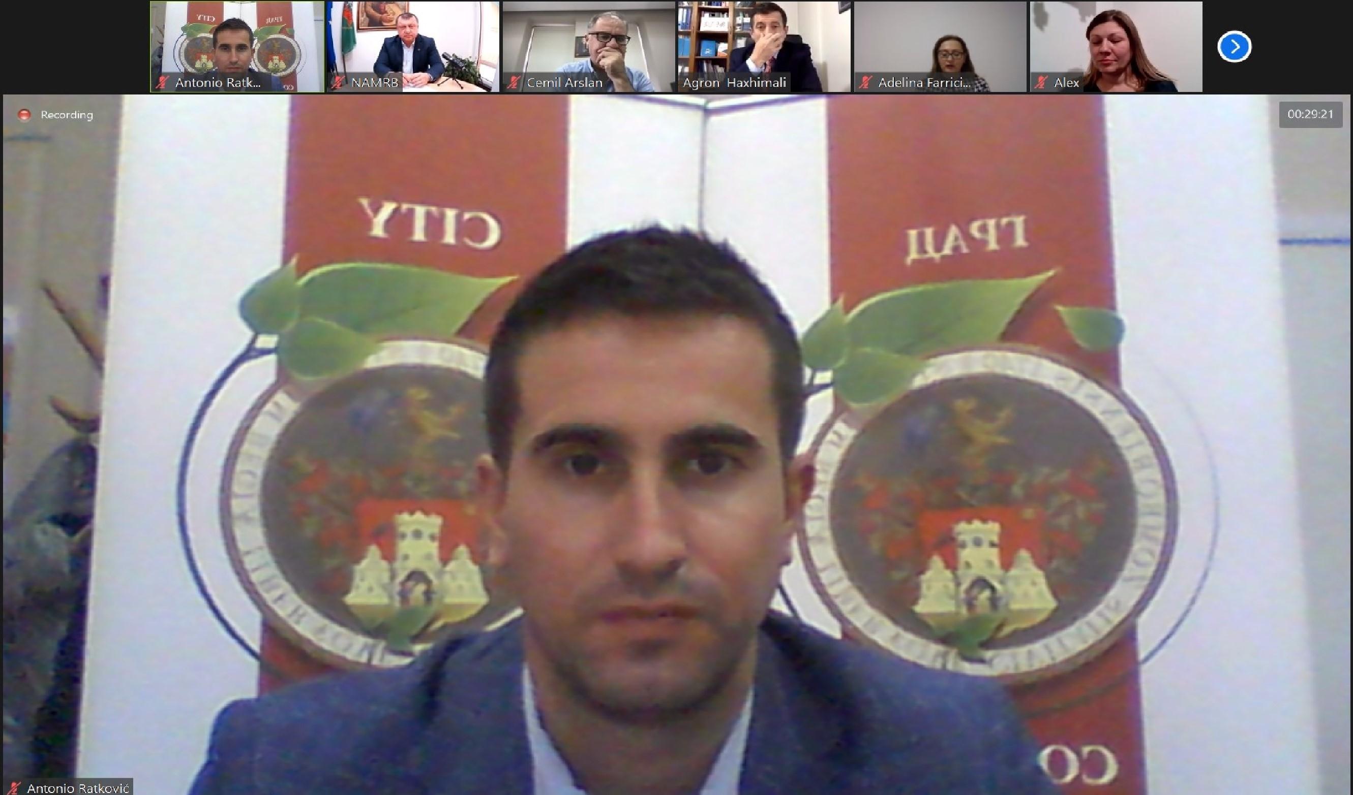 Онлајн конференција Комитета официра за везу НАЛАС-а
